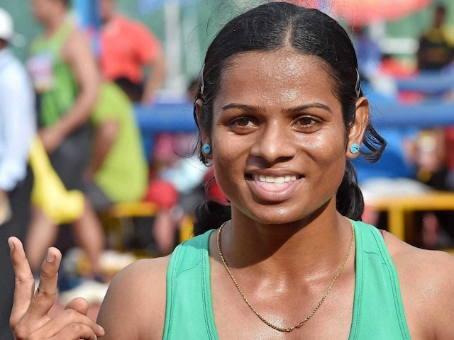 Dutee Chand Wins 100m Gold On Return From Suspension