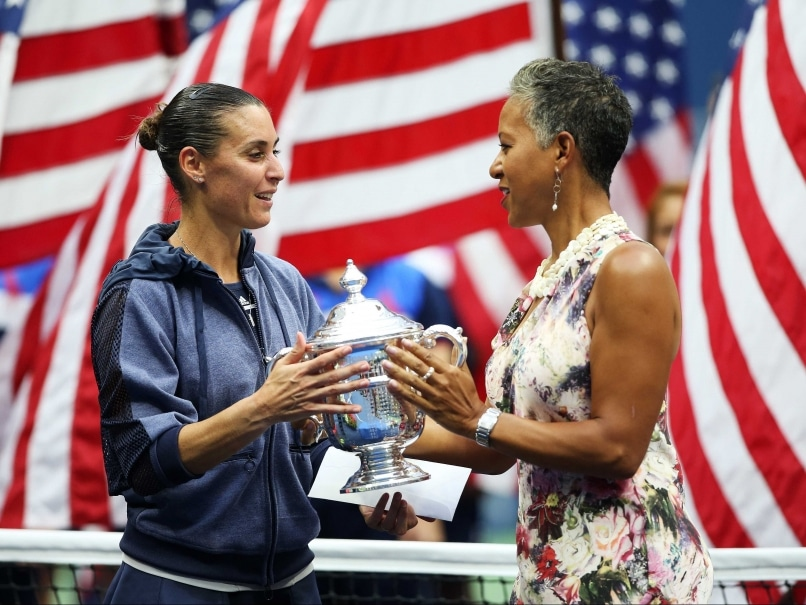 US Open 2015 Champion Flavia Pennetta Saves Her Best for Last