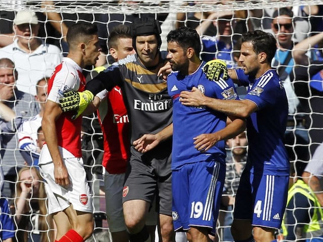Provocative Diego Costa Sparks Controversy as Chelsea F.C. Punish Nine-Man Arsenal F.C.