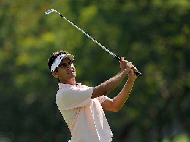 Himmat Rai Trails Greg Moss in India Masters Golf