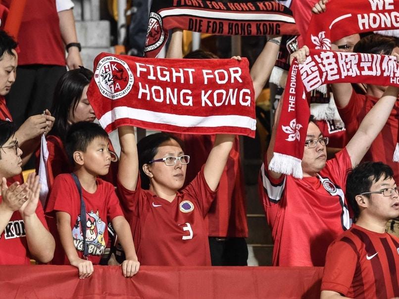 Hong Kong Fans Jeer