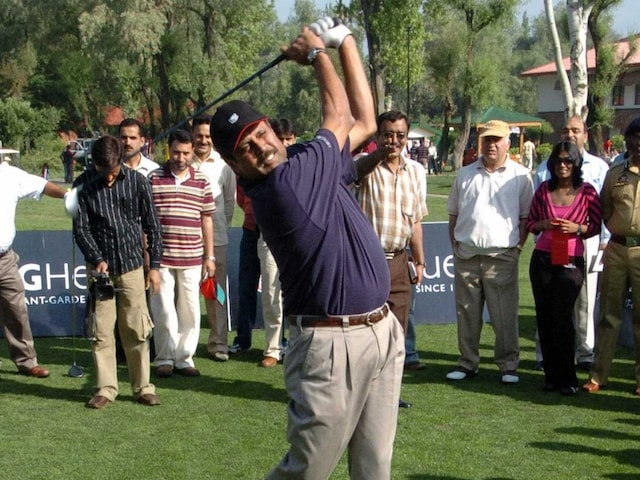 Kapil Dev, The Golfer, Finishes With Best Individual Score