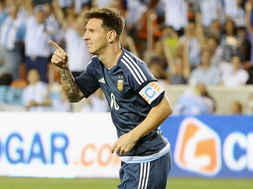 Lionel Messi Aims to End Argentina