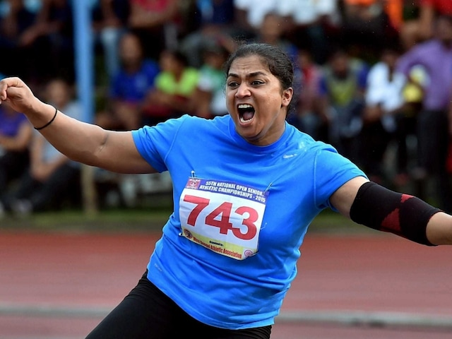 Shotputter Manpreet Kaur Shatters National Record, Qualifies for 2016 Rio Olympics