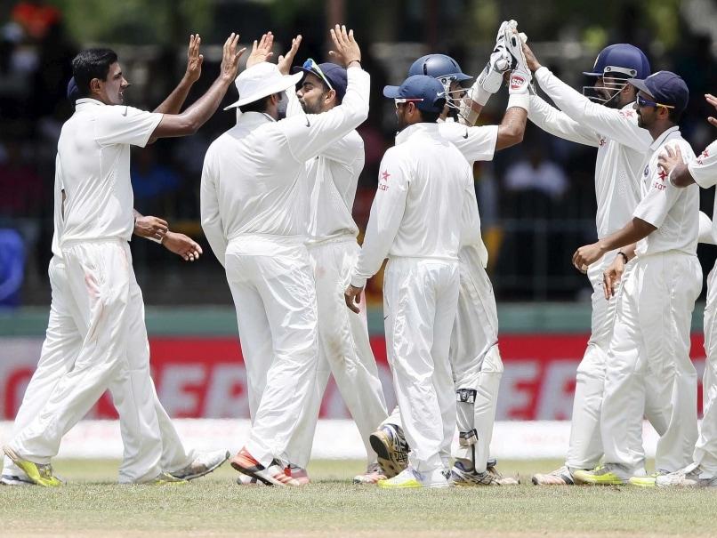 Ravichandran Ashwin wicket celebration