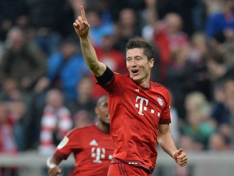 Robert Lewandowski five goals Bayern Munich