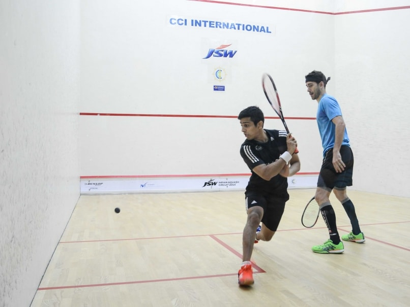 Saurav Ghosal Loses in Final of CCI Open Squash Championships