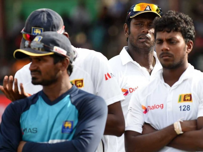 Angelo Mathews Rues Sri Lanka