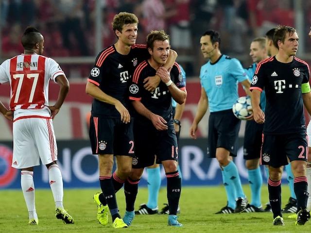 Champions League: Thomas Mueller Brace Helps FC Bayern Munich Beat Olympiakos