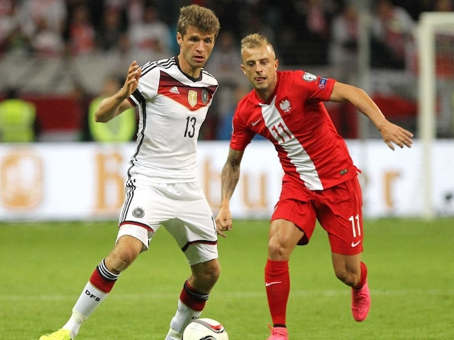 Thomas Mueller Brace Takes Germany Closer to Euro 2016 Qualification