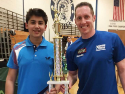Jammu Teenager Aryan Mahajan Wins Table Tennis Tourney in US