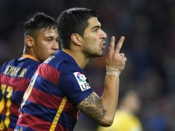 Four-Star Luis Suarez Keeps FC Barcelona On Top, Real Madrid C.F and Atletico Stay in Hunt