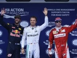 Nico Rosberg Takes Pole at Chinese GP, Lewis Hamilton to Start in Back
