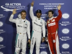 Record-breaking Lewis Hamilton Scorches to Bahrain Grand Prix Pole