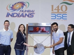 Indian Premier League: Rohit Sharma Rings Opening Bell at Bombay Stock Exchange Ahead of Mumbai Indians' Opening Match