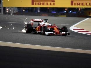 Sebastian Vettel's Bahrain Bid up in Smoke