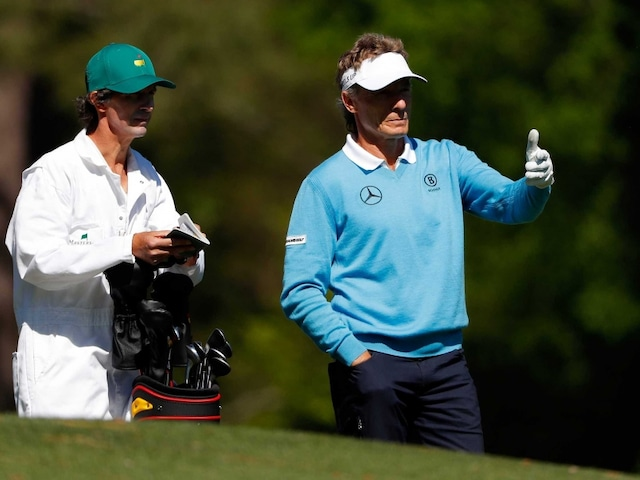 Bernhard Langer In Contention for Augusta Masters Title At Age 58