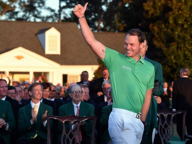 Danny Willetts Sensational Augusta Masters Win Set up by Birth of his Son