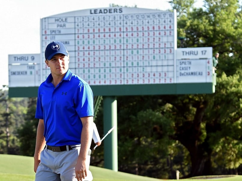 Jordan Spieth Irritated About Timing of Being on the Clock at Augusta Masters