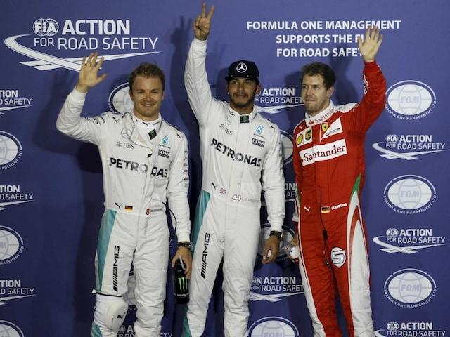 Record-breaking Lewis Hamilton Scorches to Bahrain Grand Prix Pole