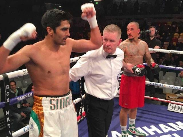 Vijender Singh Extends Winning Streak, Pummels Matiouze Royer