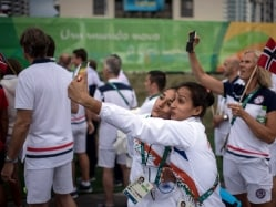 Rio Olympics: Upbeat Indian Contingent Gets Formal Welcome in Games Village