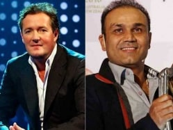 Piers Morgan Takes Twitter War With Virender Sehwag to Next Level