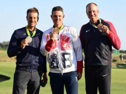 Rio 2016: Justin Rose Edges Henrik Stenson For First Golf Gold Since 1904