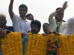 After Telangana, Andhra Pradesh Gives PV Sindhu Red Carpet Welcome in Vijaywada