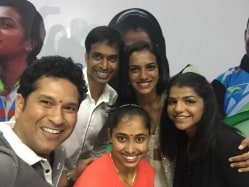 A BMW Each For PV Sindhu, Dipa Karmakar, Sakshi Malik: Sachin Tendulkar Does The Honours