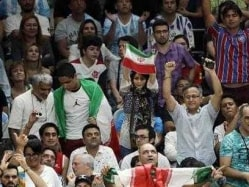 Rio Olympics: Banned at Home, Iranian Woman Attends First Volleyball Game
