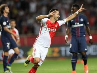 Ligue 1 Champions Paris Saint-Germain Beaten by Monaco