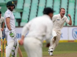 1st Test, Durban: New Zealand In Command Versus South Africa on Day 1