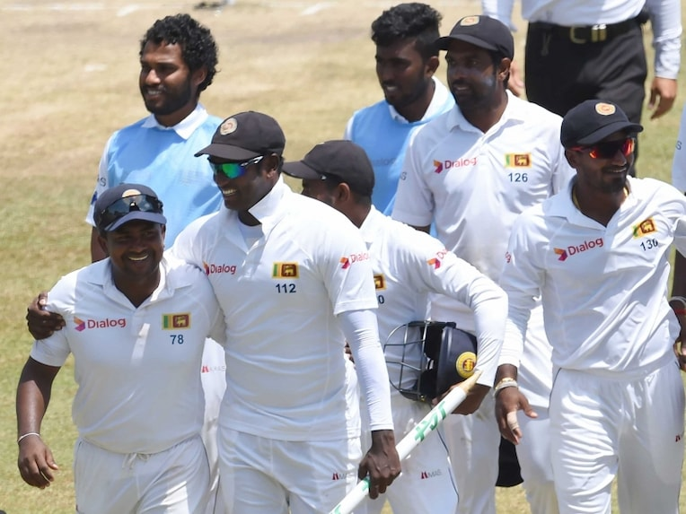 Angelo Mathews Sri Lanka win
