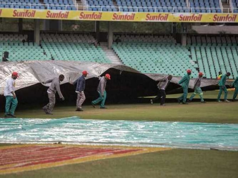 1st Test: Fourth Days Play Between South Africa-New Zealand Abandoned Due to Wet Outfield