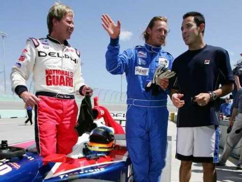 David Nalbandian Honing Skills at Rally Races