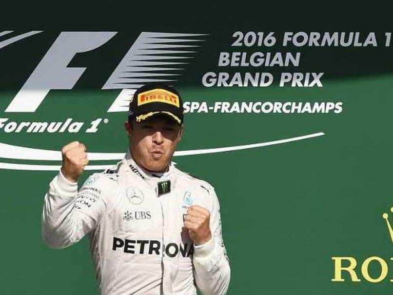 Belgian GP: Nico Rosberg Cruises to Victory, Lewis Hamilton Finishes Third