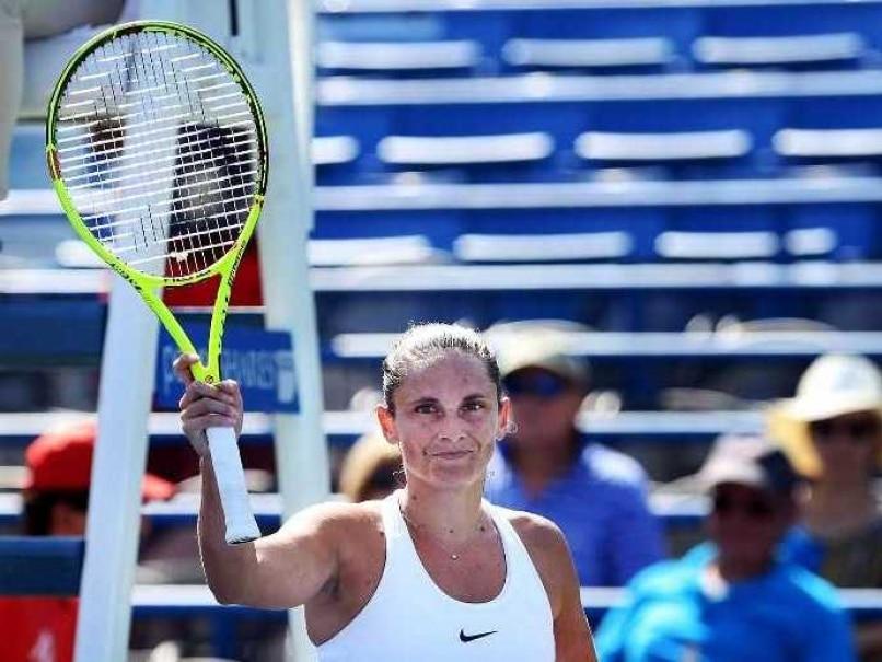 Roberta Vinci Enters Quarter-Finals of WTA Connecticut Open