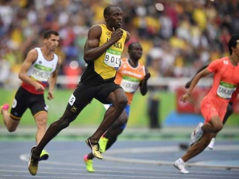 Usain Bolt Running 1708