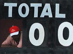 Ground Zero -- English Team Bowled Out For 0