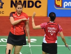 Jwala-Ashwini, Manu-Sumeeth Progress; Sameer Crashes Out