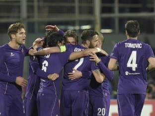 Fiorentina Late Show Keeps Inter Milan at Bay