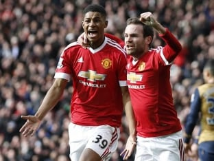 Manchester United F.C. Marcus Rashford Needs to Keep Calm, Says Juan Mata