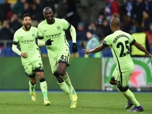Manchester City Defeat Dynamo Kiev, Get One Step Closer to Champions League Quarterfinals