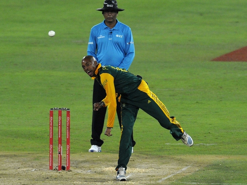 Aaron Phangiso Reported For Suspected Illegal Bowling Action