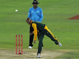 South Africa Spinner Aaron Phangiso Suspended For Illegal Action
