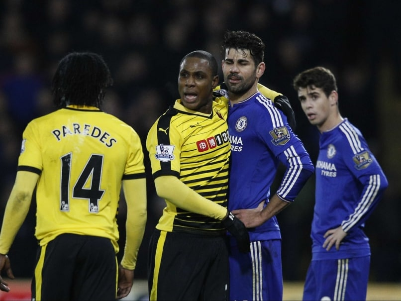 Diego Costa Snarls in Vain as Watford Hold Chelsea F.C.