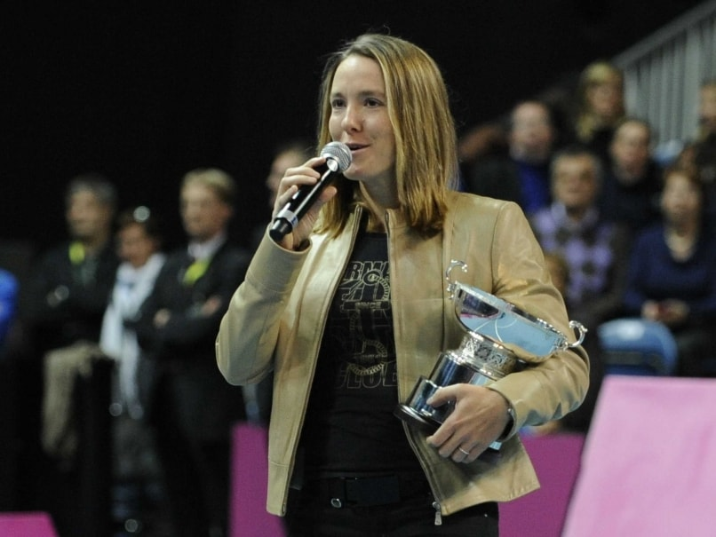 Former Number One Justine Henin to Coach Ukraine