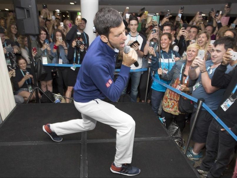 Novak Djokovic Entertainment
