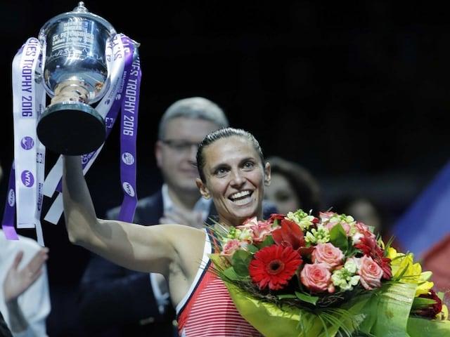 Roberta Vinci Wins Saint Petersburg Title